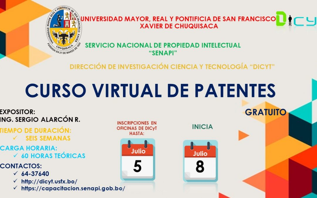 Curso Virtual de Patentes